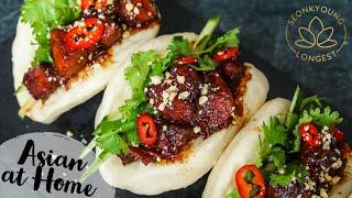 Gua Bao Pork Belly Steamed Buns!