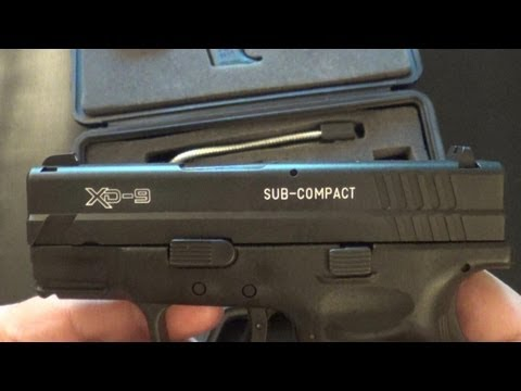"Springfield Armory XD 9mm 3"" Review/Takedown/Cleaning"