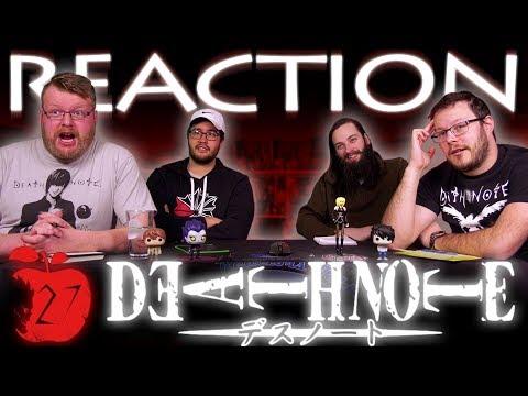"""Death Note Episode 27 REACTION!! """"Abduction"""""""