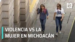 Violencia contra las mujeres en Michoacán | Víctima de abuso sexual en Michoacán - A las Tres