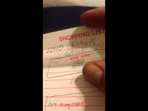 Paying Credit card bill, with Promissory note. Part1/5
