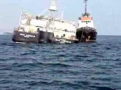 Fujairah anchorages Aggregate barge