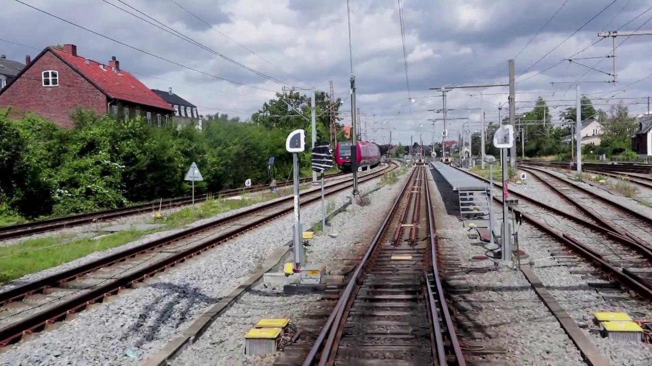 S-tog, linje F fra Ny Ellebjerg til Hellerup - YouTube