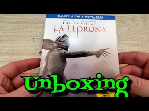 The Curse Of La Llorona Blu-Ray Unboxing thumbnail