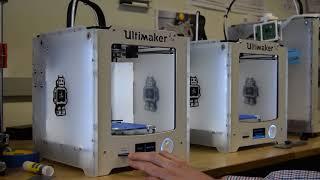 University of Edinburgh uCreate studio - 3D-printers