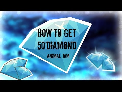 How To Get 50 Diamonds on Animal Jam! { NO JOKE, NO SURVEY,NO DOWNLOAD}