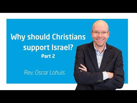 Why Should Christians  Support Israel? - Part 2 | Rev. Oscar Lohuis