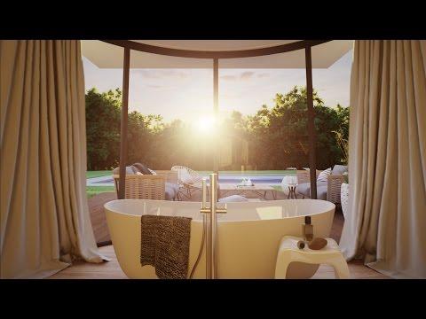 Villa 3D animation Valentinstudio