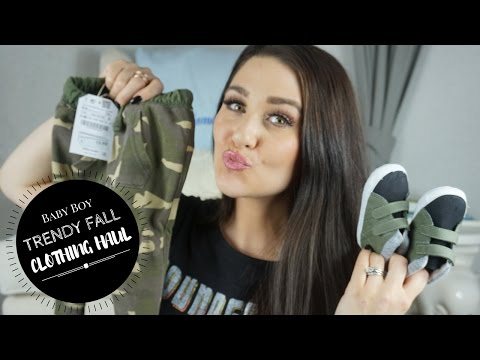 BABY BOY TRENDY FALL CLOTHING HAUL   Zara, H&M, Old Navy, Carter's & More!