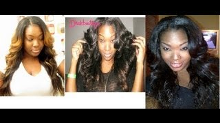 3 of my Favorite Virgin Hair Textures| Brazilian & Indian Hair