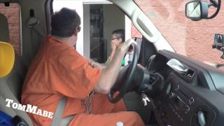 Prisoner Drive Thru Prank! - Tom Mabe Pranks thumbnail