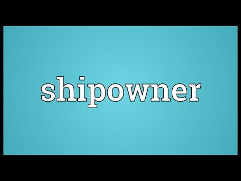 Header of shipowner
