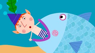 Le gros poisson  Le Petit Royaume de Ben et Holly  Dessin animé