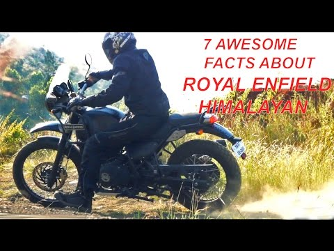 7 Awesome Facts about the Royal Enfield Himalayan