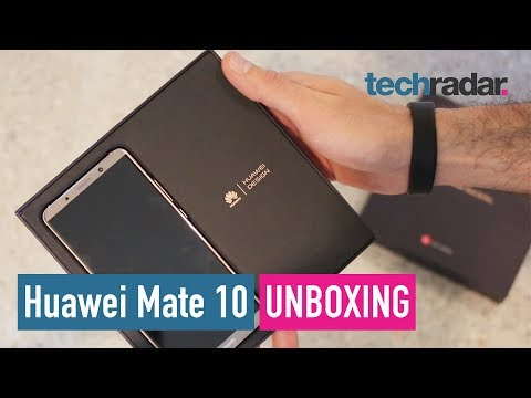 Download Youtube: Huawei Mate 10 Pro unboxing