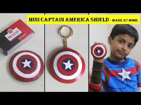 How to Make Miniature Captain America Shield DIY from M-Seal (Epoxy Compound) | M Seal Art Ideas