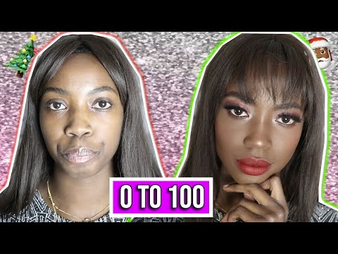 0 to 100 Makeup Tutorial💥 Christmas, Holiday Glam, Silvester⎥Abigail