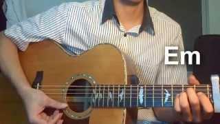 [Guitar] Anh ở đâu - Khởi My Cover (Hướng dẫn + Hợp âm)