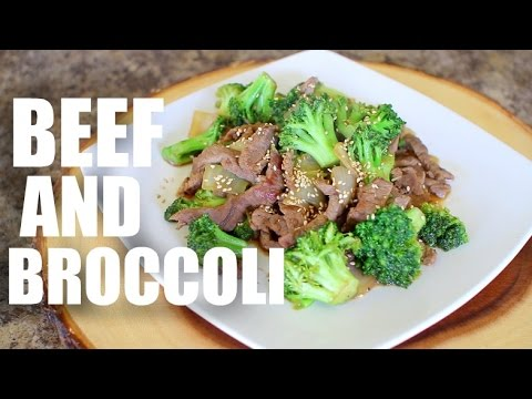 Beef And Broccoli Stir Fry - Low Carb Recipes For Weight Loss - Stir-fry - Dinner - Healthy Recipe