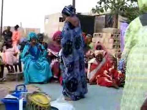 Senegal: Clip from wedding cermonies...