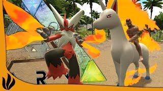 ARK: Survival Evolved FR - Galopa OP ?! Nouveaux Pokemon & Combats !