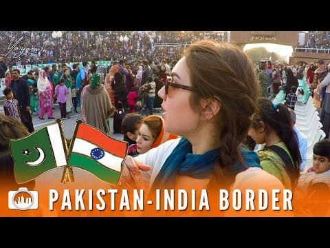 PAKISTAN INDIA WAGAH BORDER CEREMONY | Lahore (Pakistan #12)
