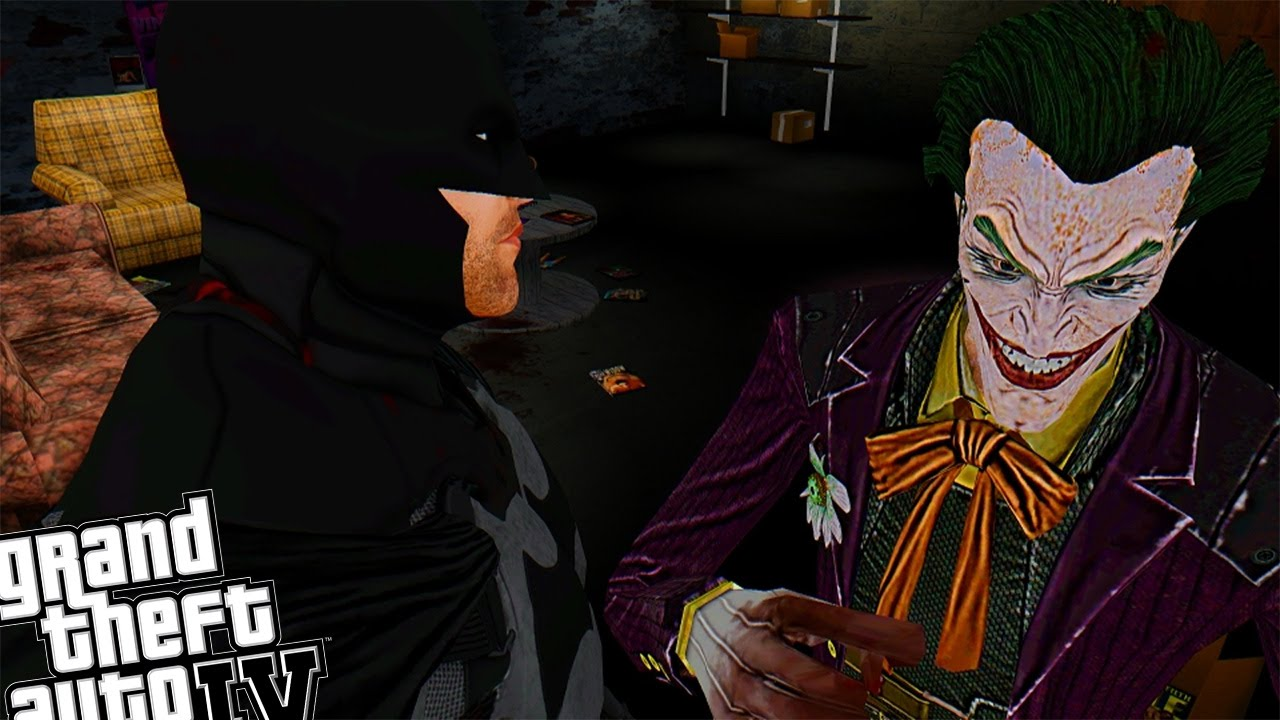 Gta Iv Batman Mod Vs The Joker Mod - Epic Battle In Sex -8863