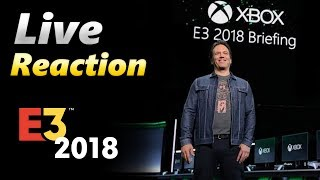 E3 2018 - Microsoft Press Conference - LIVE Reaction