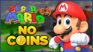 - Is it possible to beat Super Mario 64 without touching a single coin