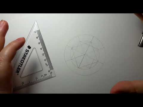 How To Draw Out Round Diamond