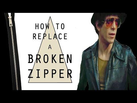 How to Fix / Replace a Broken Zipper