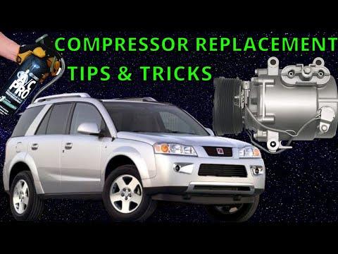 Saturn Vue ac compressor replacement