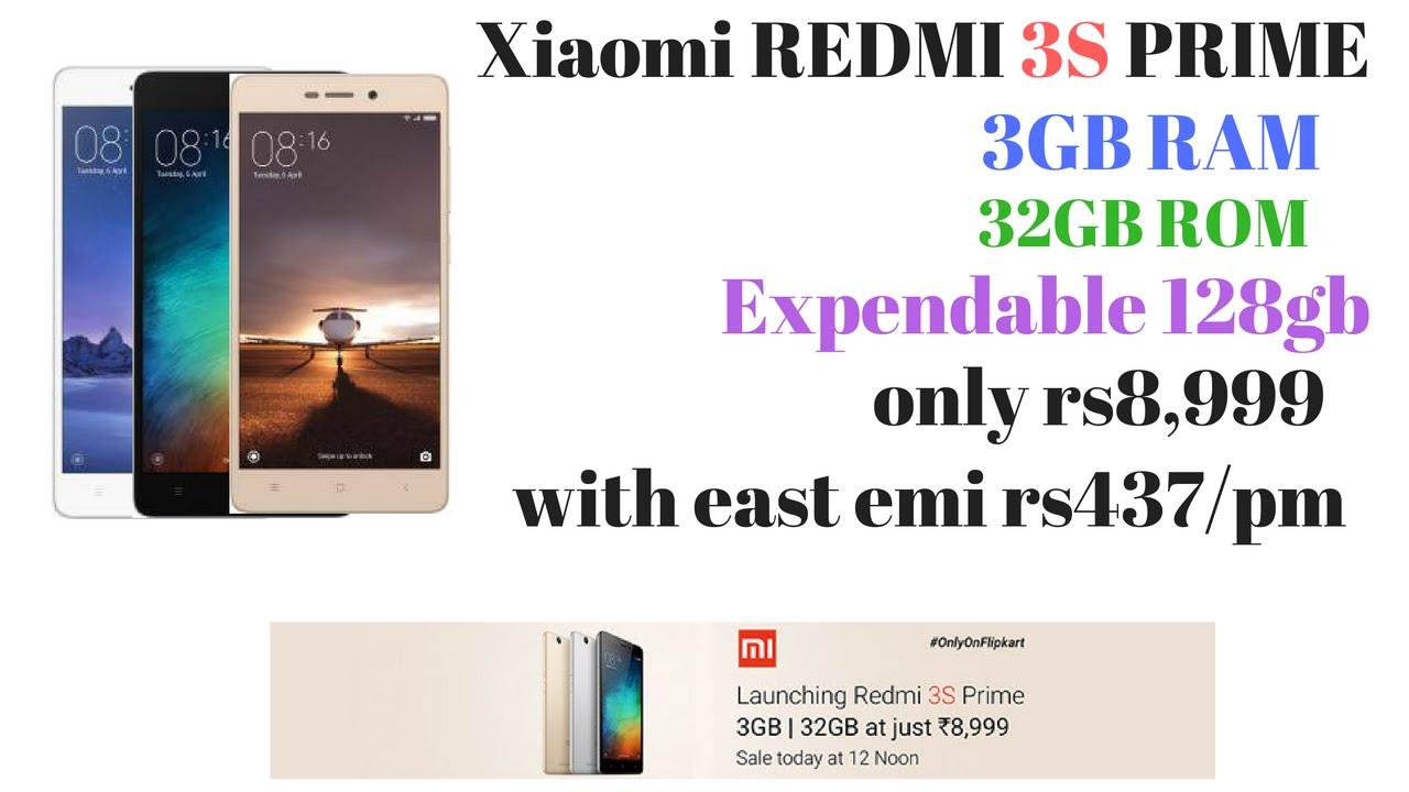 Xiaomi Redmi 3s prime 3gb ram, 32gb rom, best budget mobile phone