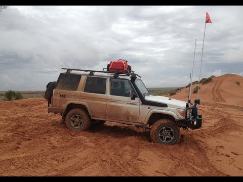 2013 Birdsville Track, Big Red, Simpson Desert 4wd Trip ( 76 Series)