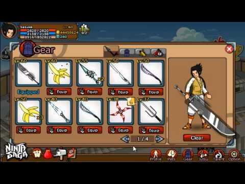 Ninja Saga Shark Skin Sword Hack