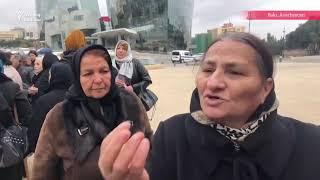 Şəhidlər Xiyabanı və Milli Məclis qarşısında etiraz
