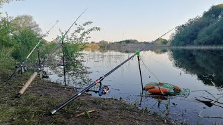 Рыбалка 2018 ловля карася на поплавок и донки