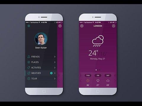 Best Mobile App, UI Design 2017, - mobile app design, trends 2017, | App / UI design