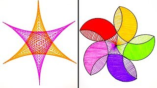 What To Do On A Boring Day || 23 Fun Drawing Tricks For Everyone