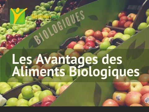 Certains des Avantages des Aliments Biologiques