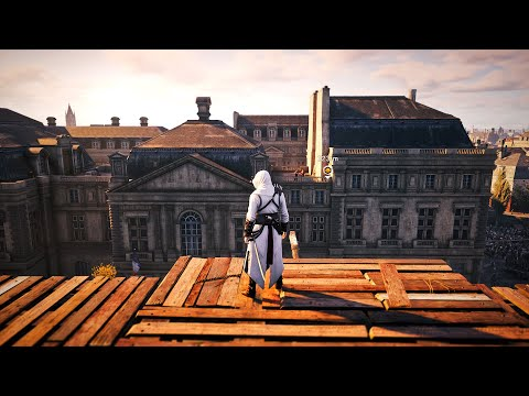Assassin's Creed Unity - Fast Action Stealth Kills - Gameplay Highlights PC |