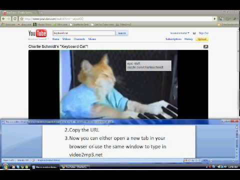 Youtube to Mp3 Download Tutorial
