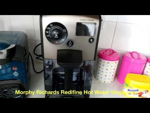 morphy richards hot water dispenser instructions