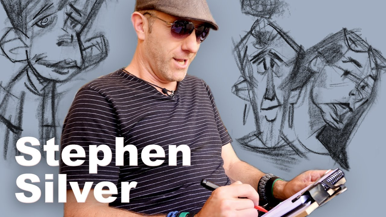 Sketching People with Stephen Silver