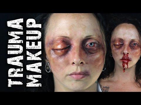 Black Eye Trauma Makeup