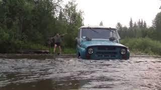 Утопили УАЗ в тайге утопили машину в лесу автомобиль жесть авария рыбалка охота