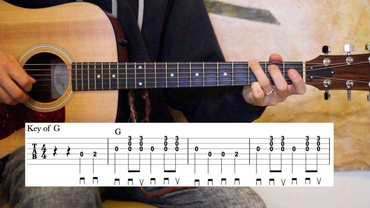 Are You Washed In The Blood Carter Style Guitar Lesson Youtube