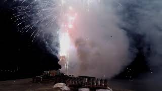 昨夜開催された地元宿毛市での恒例花火大会の映像です。