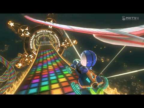 Wii U - Mario Kart 8 - (N64) Regenbogen-Boulevard