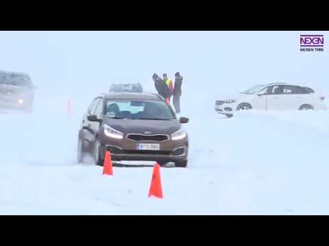 Nexen Tire Winter Launch Event at Jämi 2018